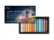 Масляная пастель MUNGYO Gallery Soft oil мягкая, 12 цветов
