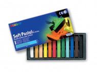 Пастель художественная мягкая для детей и взрослых MUNGYO Soft Pastel 12 цветов
