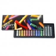 Набор пастели сухой мягкой круглой в картонной коробке Mungyo GALLERY Extra Fine Soft, 15 цветов