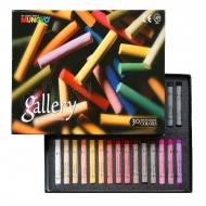 Пастель сухая мягкая профессиональная круглая Mungyo GALLERY Extra Fine Soft, набор 30 цветов