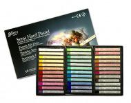 Пастель сухая профессиональная полутвердая 36 цветов MUNGYO Gallery Semi Hard