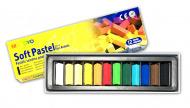 Пастель мягкая для детей и взрослых MUNGYO Soft Pastel Mini 1/2 длины, 12 цветов