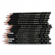 Карандаши графитовые Tombow MONO Pencil поштучно, твердость 9H-6B