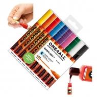 Набор акриловых маркеров Molotow 127HS Basic-Set I для декора и рисования, 10 цв., 2 мм