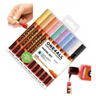 Набор акриловых маркеров Molotow 127HS Pastel-Set для декора и рисования, 10 цв., 2 мм