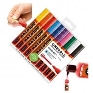 Набор акриловых маркеров Molotow 227HS Basic-Set I для декора и рисования, 10 цв., 4 мм