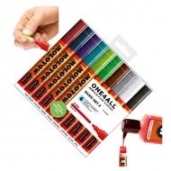 Набор акриловых маркеров Molotow 227HS Basic-Set II для декора и рисования, 10 цв., 4 мм