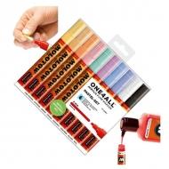 Набор акриловых маркеров Molotow 227HS Pastel-Set для декора и рисования, 10 цв., 4 мм