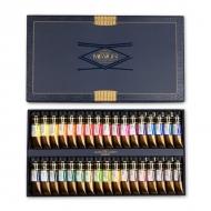 Набор акварели MIJELLO - Mission Gold в тюбиках 15 мл, 34 цвета