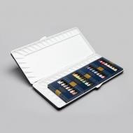 Набор акварели MIJELLO - Mission Gold Silver Nаno в тюбиках по 7 мл, 36 цветов с а/бакт. палитрой