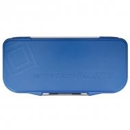 "Палитра для акварельных красок Mijello ""Fusion 18"", 270х130х23 мм, голубой пластик"