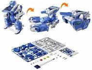 """Игрушка-конструктор на солнечных батареях """"Робот Трансформер"""""""