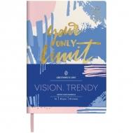 Записная книжка Greenwich Line Vision.Trendy, формат А6, 80 л., обложка кожзам, тонированная бумага
