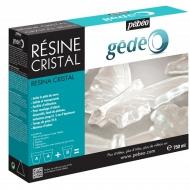 Эпоксидная смола Crystal Resin Pebeo имитация хрусталя и стекла, двухкомпонентная 300 мл