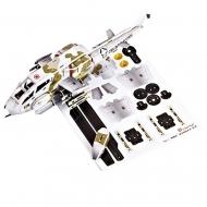 3D-пазл CubicFun 2в1 Истребитель СУ-35 и Вертолет AH-1 Кобра