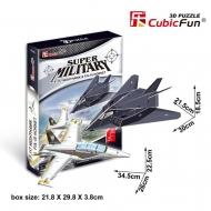 """3D-пазл CubicFun 2в1 Самолеты """"Ночной ястреб"""" и Истребитель-бомбардировщик"""