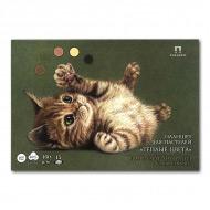 """Планшет для пастели """"Теплые цвета"""" Лилия Холдинг, 160 г/кв.м, формат А4, 15 листов"""