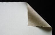 Холст грунтованный в рулоне 524 г/м2 Belle Arti комбинированная ткань, 215 см* 10 м, среднезерн.