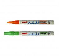 Маркеры перманентные Uni Paint 0,8-1,2мм (круглое перо) PX-21
