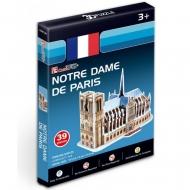 3D-пазл CubicFun Нотрдам де Пари (Франция) (серия Мини)