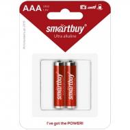 Батарейка SmartBuy AAA (LR03) алкалиновая, BC2 (2шт. упаковка)