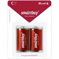 Батарейка SmartBuy C (LR14) алкалиновая, BC2 (2шт. упаковка)
