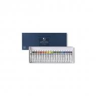 Набор акварельных красок в тубах Water Color Pro ShinHanart, 18 цветов по 7,5 мл
