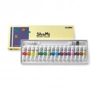 Набор акварельных красок в тубах Shami Water Color ShinHanart, 18 цветов по 10 мл
