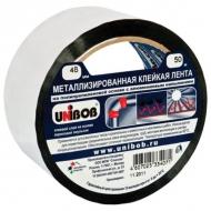 Металлизированная клейкая лента Unibob, 48мм х 50м, толщина 50 мкм