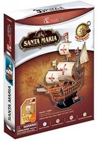 "3D-пазл CubicFun Корабль ""Санта Мария"""