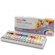 Акварельные краски Pentel Arts Water Colours 15 цветов