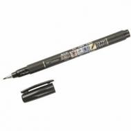 Ручка Brush Pen Tombow Fudenosuke для рисования и каллиграфии, мягкий наконечник, цвет черный