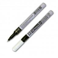 Белый перманентный маркер для декорирования Sakura Pen-Touch, 0.7мм