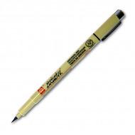 Капиллярная ручка - кисть Sakura Pigma Brush для каллиграфии и оформительских работ