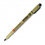 Ручки капиллярные Sakura Pigma Graphic с пулевидным и скошенным наконечником от 1 до 3 мм