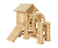 Конструктор из дерева «Водяная мельница»