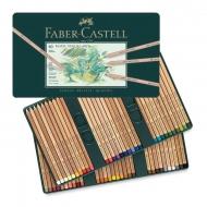 Набор пастельных карандашей Pitt Pastel Faber-Castell, 60 цветов, металлический пенал