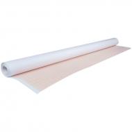 Бумага масштабно-координатная Лилия Холдинг, рулон 640 мм*10 м, оранжевая