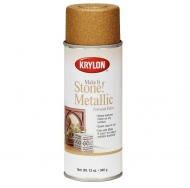 Текстурированная аэрозольная краска Krylon Fine Stone Металлик 340 г