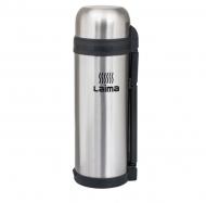 Термос Лайма классический с узким горлом, 1,8 л, нержавеющая сталь, пластиковая ручка, 601405