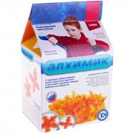 """Набор для выращивания кристаллов Lori """"Алхимик. Оранжевый кристалл"""", большой, для детей от 10-ти лет"""