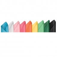 Бумага шелковая 17г/м.кв 0,5*2м в рулоне (упаковка 10шт.)