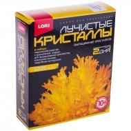 """Набор для выращивания кристаллов Lori """"Лучистый желтый"""", для детей от 10-ти лет"""