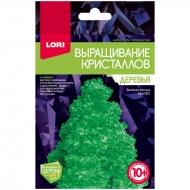 """Набор для выращивания кристаллов Lori """"Деревья. Зеленая ёлочка"""", для детей от 10-ти лет"""