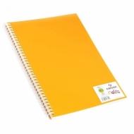 Блокнот для зарисовок Canson Notes 120г/м.кв 21*29.7см 50л пластиковая обложка на спирали