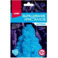 """Набор для выращивания кристаллов Lori """"Деревья. Голубая ёлочка"""", для детей от 10-ти лет"""