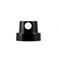Кэп (cap) Montana Standard черный с белой вставкой, 1,2см