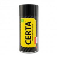 Термостойкая эмаль CERTA для металла 750°C цвет: черный, аэрозоль, 520 мл