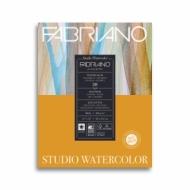 Альбом для акварели Fabriano Watercolour Studio 200г/кв.м (25%хлопок) 28x35,6см Сатин 20л склейка по 1 стороне