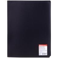 """Папка с 30 вкладышами Erich Krause """"Standard"""", 17мм, 400мкм, черная"""